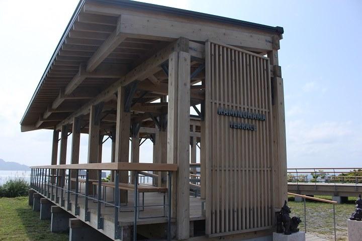神の浜展望台 座間味島 観光