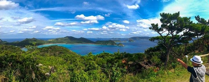 座間味島 観光 高月山展望台