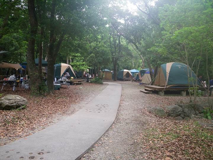 比地大滝キャンプ場