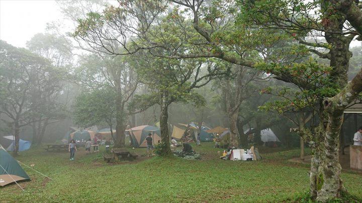 乙羽岳森林公園キャンプ場