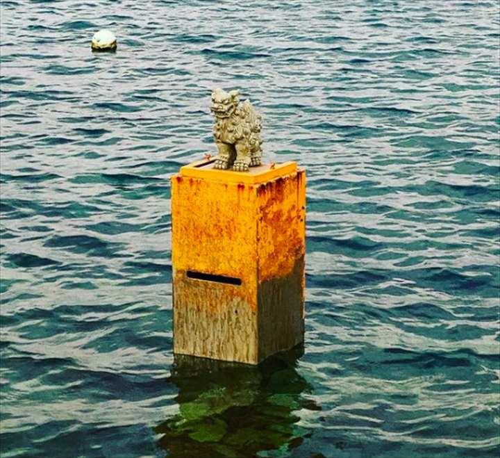 沖縄 珍スポット 海のポスト