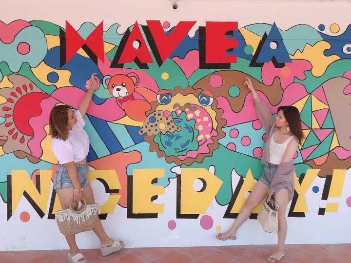 沖縄 ウォールアート アメリカンビレッジ3