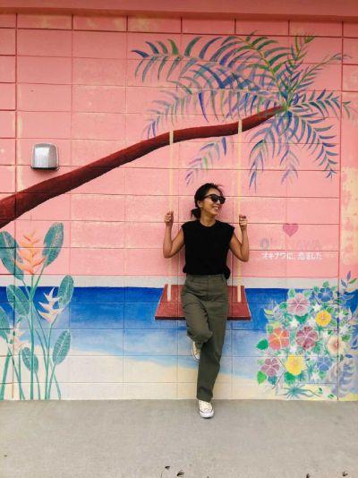 沖縄 ウォールアート 美々ビーチいとまん2