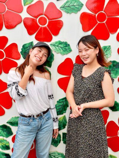 沖縄 ウォールアート サザンビーチホテル&リゾート