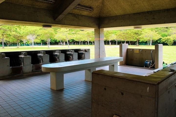 つつじエコパーク キャンプ 炊事場