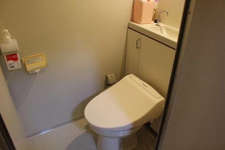 つつじエコパーク バンガロー トイレ