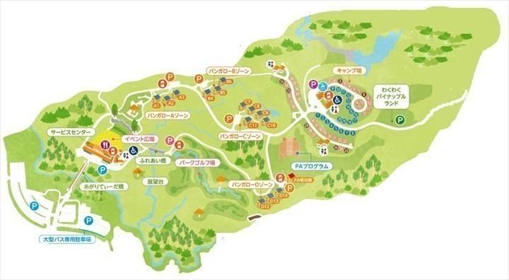 つつじエコパーク 地図