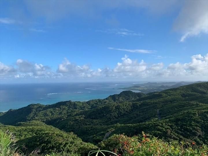 野底岳 頂上 景観